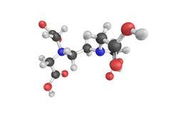 Edetate disodium jest chelating agentem (EDTA) Chelating agent Obrazy Royalty Free