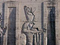 Edfu Tempel, Ägypten Lizenzfreies Stockfoto