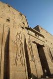 Edfu Tempel Ägypten Stockbilder