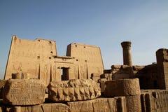 Edfu Tempel Ägypten Lizenzfreies Stockbild