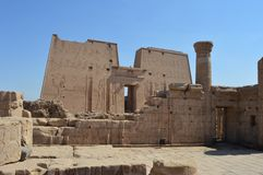 Edfu-Tempel, Edfu, Ägypten lizenzfreie stockbilder