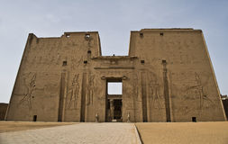 Edfu temple Stock Photos