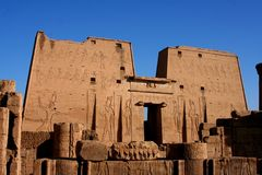 Edfu Temple Stock Images