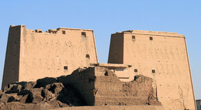 Edfu Temple 2 Royalty Free Stock Images