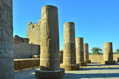 Edfu temple, Egypt Royalty Free Stock Images
