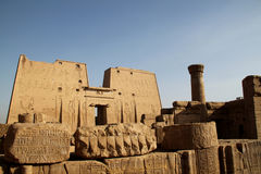 Edfu Temple Egypt Royalty Free Stock Image