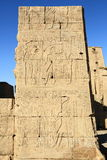 Edfu Temple in Egypt Royalty Free Stock Images