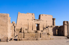 Edfu Temple of Horus, Egypt Stock Photo