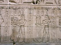 edfuegypt tempel Arkivfoto