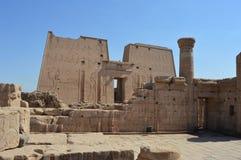 Edfutempel, Edfu, Egypte Royalty-vrije Stock Afbeeldingen