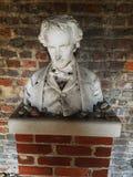 Edgar Allan Poe świątynia, Poe muzeum, Richmond, Virginia, USA Zdjęcie Royalty Free
