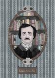 Edgar Allan Poe obraz royalty free