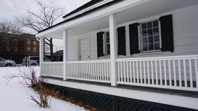Edgar Allan Poe Cottage Park 19 Arkivfoto