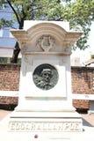 Edgar Allan Poe grav Arkivbilder