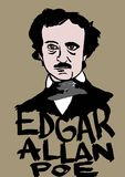 Edgar Allan Poe Royalty Free Stock Photos