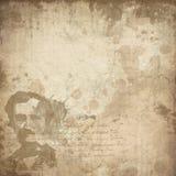 Edgar Allan Poe - Zakłopotany kolażu tło - Makabryczny Halloween - got - Ciemny humor ilustracja wektor