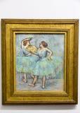 Edgar Degas - au musée d'Albertina à Vienne images stock