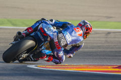 Edgar Pons. Moto2. Grand Prix Movistar of Aragón. Of MotoGP. Aragon, Spain. 27th September 2015 Stock Photography