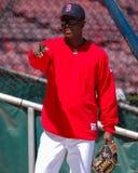 Edgar Renteria, Boston Red Sox Obraz Stock