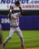 Edgar Renteria St Louis, cardinaux solides solubles Photo stock