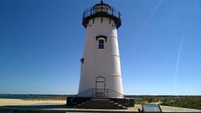Edgartown灯塔,马萨葡萄园岛 免版税库存图片