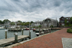 Edgartown hamn Royaltyfri Bild