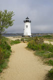 Edgartown Harbor Light, MA Royalty Free Stock Photo