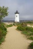 Edgartown Harbor Light, MA. Edgartown Harbor Light on Martha's Vineyard in Massachusettes Royalty Free Stock Photo