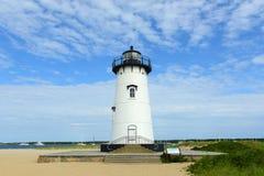 Edgartown Harbor Lighthouse, Martha's Vineyard Royalty Free Stock Photo