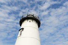 Edgartown Harbor Lighthouse, Martha's Vineyard. Edgartown Harbor Lighthouse at the entrance into Edgartown Harbor and Katama Bay, Martha's Vineyard Stock Image