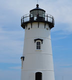 Edgartown Lighthouse. Close up of Edgartown Lighthouse on Martha's Vineyard Stock Images