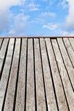 Edge of bridge to heaven Royalty Free Stock Photography