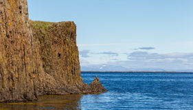 On the edge of the cliff - Iceland Royalty Free Stock Image