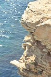 Edge of the cliff Royalty Free Stock Photography