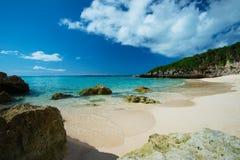 The Edge de la resaca en playa de SUNAYAMA, Okinawa Prefecture /Japan Fotografía de archivo libre de regalías