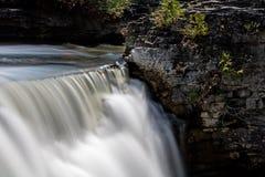 The Edge de las caídas de Rockwood Imagen de archivo libre de regalías