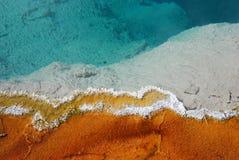 Edge of Geyser Pool Stock Photography