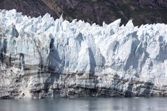 Alaska`s Glacier Edge Stock Images