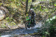 On the edge 2016 Hard Enduro Rally Stock Photos