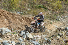 On the edge 2016 Hard Enduro Rally Stock Image