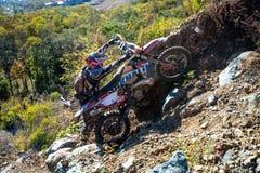 On the edge 2016 Hard Enduro Rally Stock Photo
