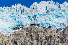 Edge of the Harding icefield Stock Image