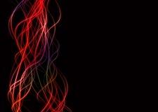 edge lines neon wave διανυσματική απεικόνιση