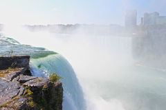 Edge of Niagara Falls. Royalty Free Stock Photo