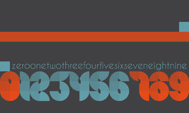Edge numbers Royalty Free Stock Photos