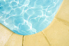 Edge of a pool. Perfect for illustrating holidays stock photo