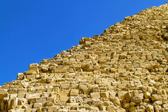 Edge of pyramid Royalty Free Stock Image