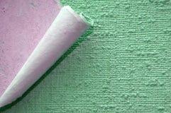 edge rolled wallpaper Στοκ εικόνα με δικαίωμα ελεύθερης χρήσης