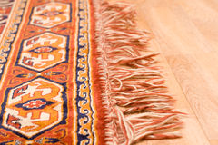 Edge of the rug Royalty Free Stock Photography