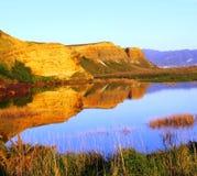 edge s-vatten Royaltyfri Fotografi